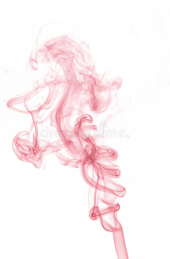 Fire and ice design. Abstract color smoke on white background: fire and ice design royalty free stock photography