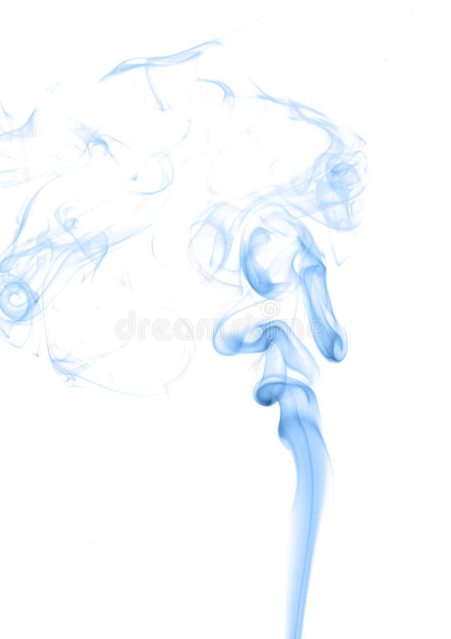 Fire and ice design. Abstract color smoke on white background: fire and ice design royalty free stock image