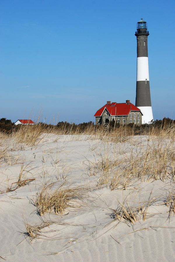 Free Fire Island Lighthouse 2 Royalty Free Stock Image - 7043766