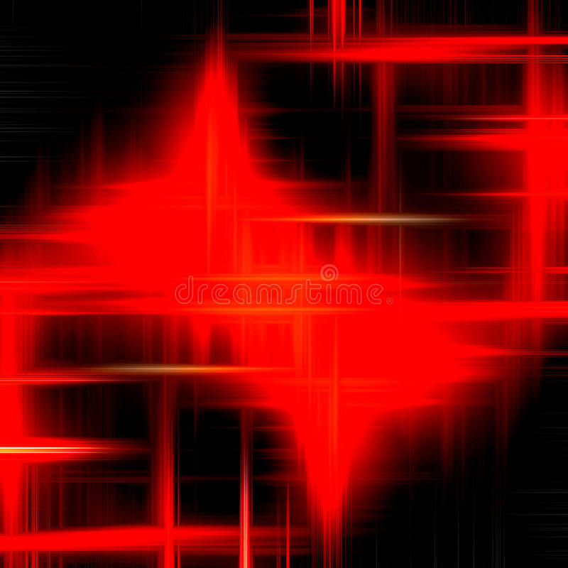Fire like shapes, abstract background vector illustration