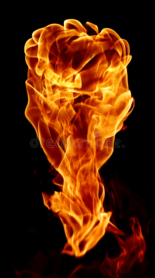 Fire like something royalty free stock image