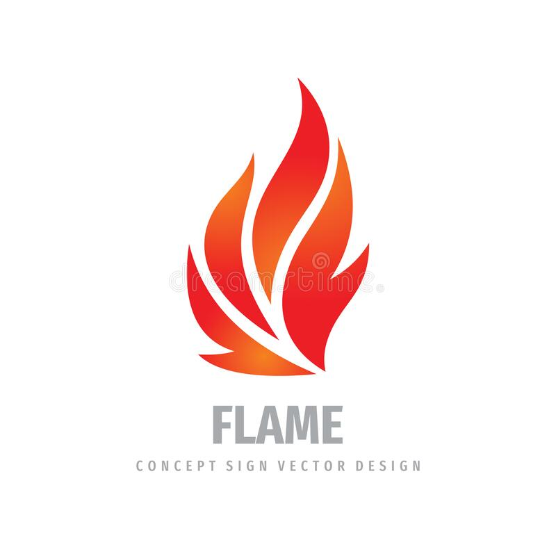 Free Fire Logo Graphic Design. Flame Concept Icon. Ignite Red Sign. Dangerous Vector Symbol. Stock Photography - 172576842