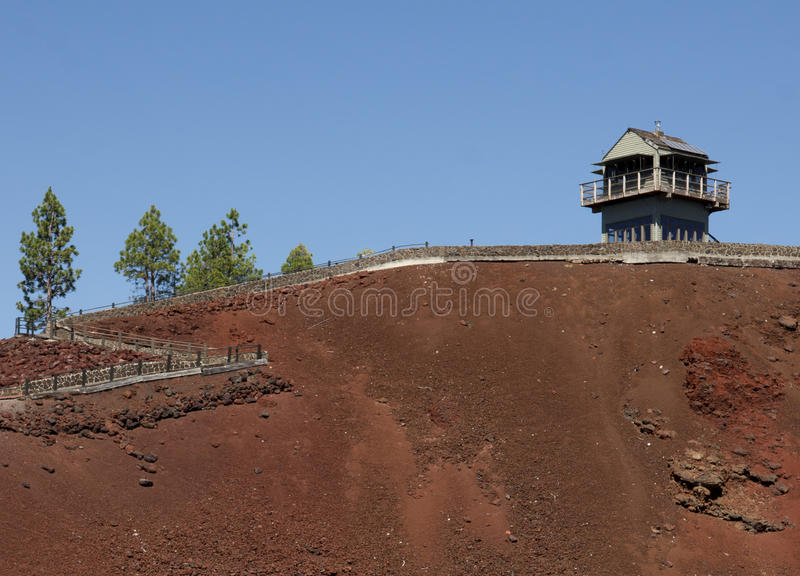 Download Fire lookout stock photo. Image of american, butte, forest - 21225724