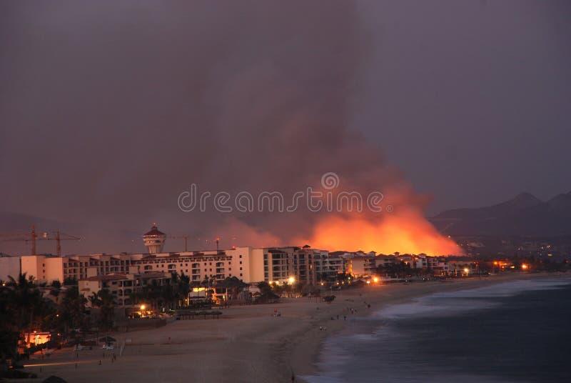Fire Los Cabos Baja California sur Mexico 2