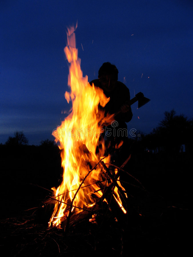 Fire-man-axe stock images
