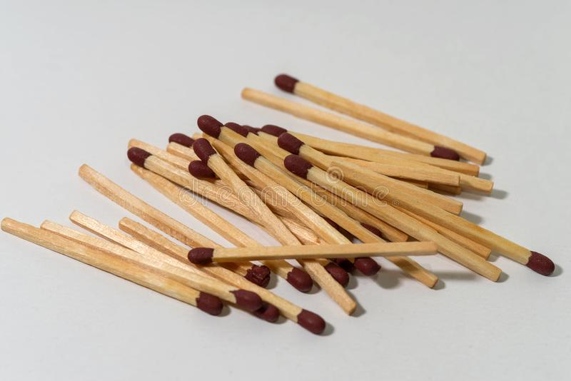 Fire matches matches sulfur stock photos