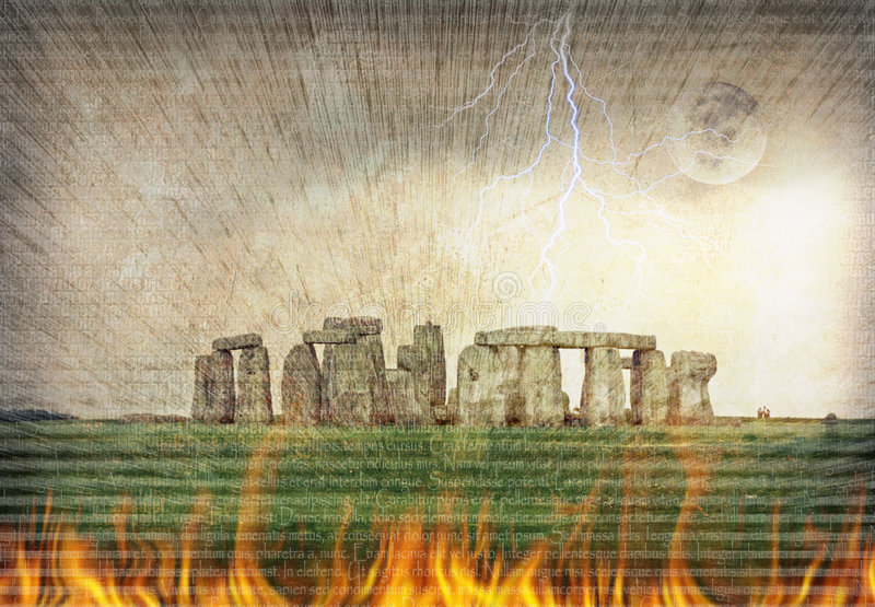 Download Fire Mystery stock image. Image of historic, attraction - 6276789