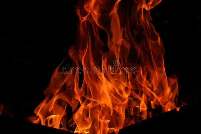 Fire Night Weekend fireplace fall red royalty free stock photos