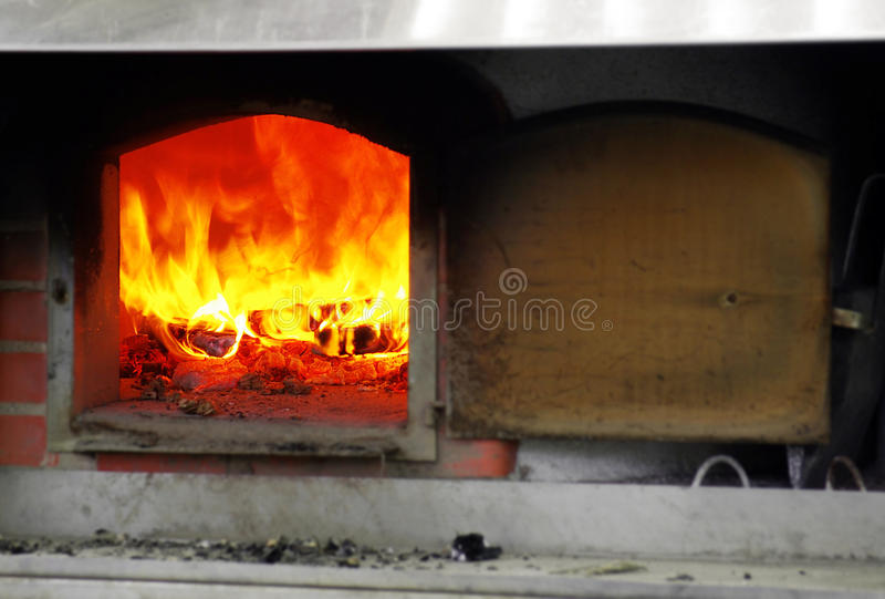 Download Fire Oven stock photo. Image of italian, blaze, ashes - 13764008