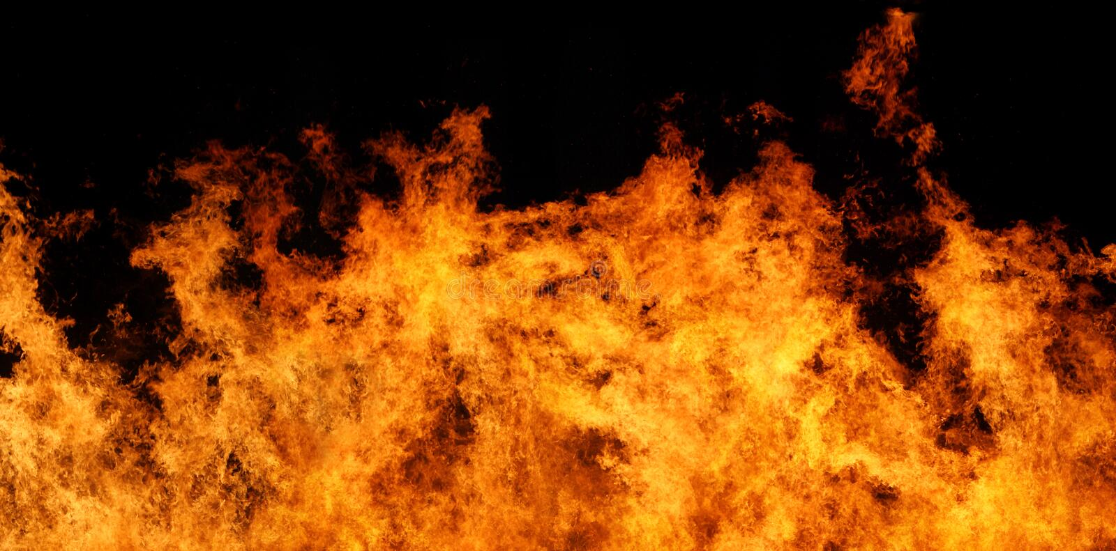 Download Fire Panorama XXL File Stock Images - Image: 1989154