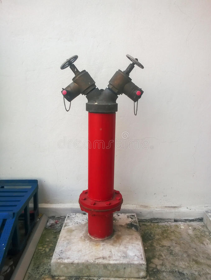 Fire Pump. In the factory royalty free stock photography