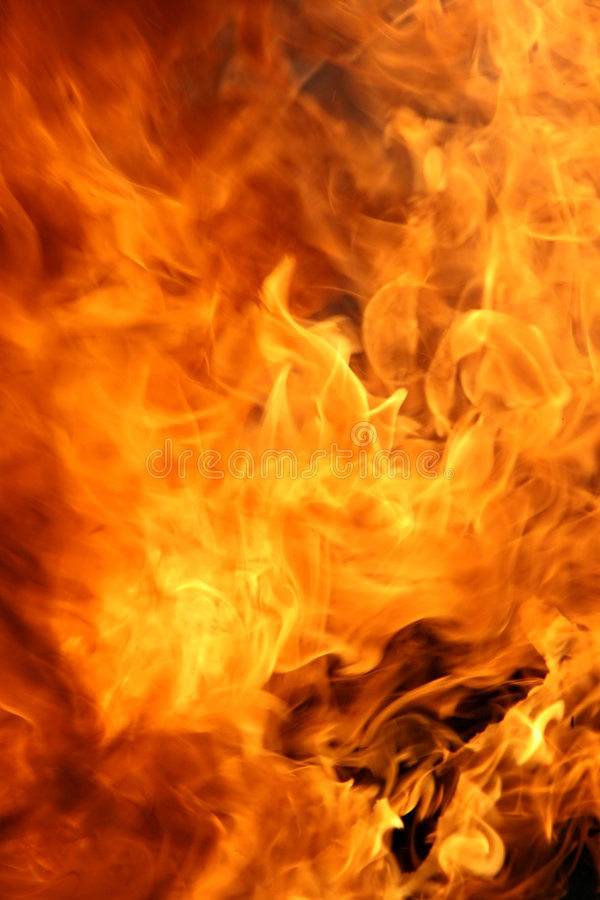 Fire Rage Royalty Free Stock Image