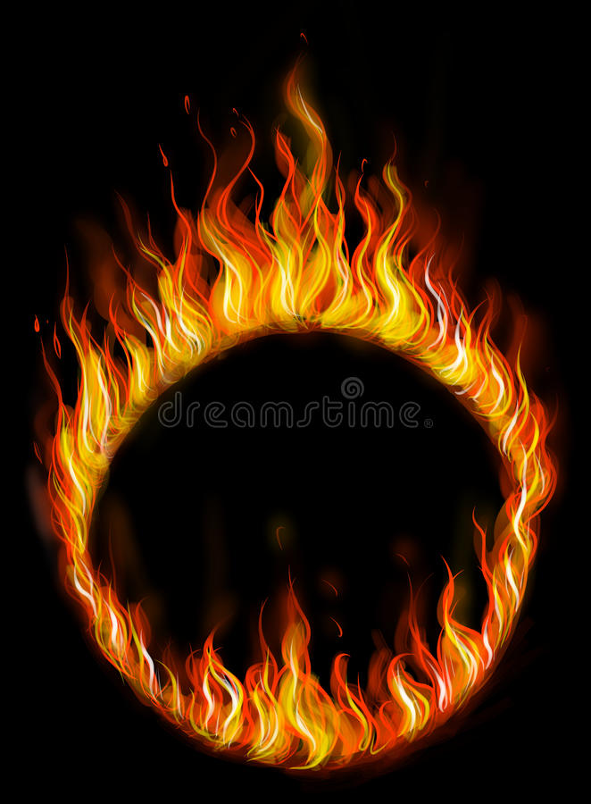 Free Fire Ring Royalty Free Stock Photo - 40419305