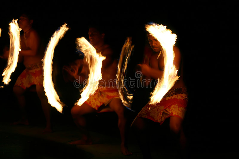 Fire Rings royalty free stock image