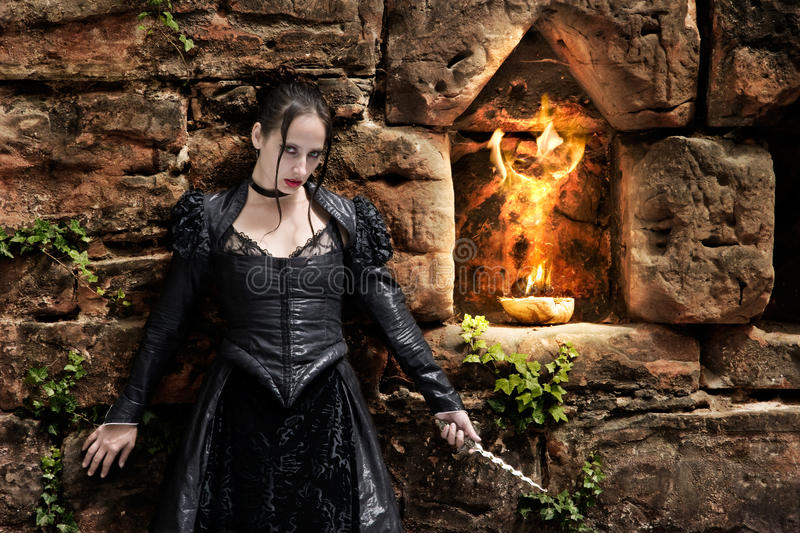 Download Fire ritual stock image. Image of attractive, lovely - 36440187