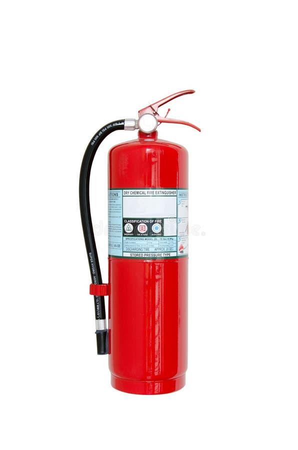Fire safety. On white background stock illustration