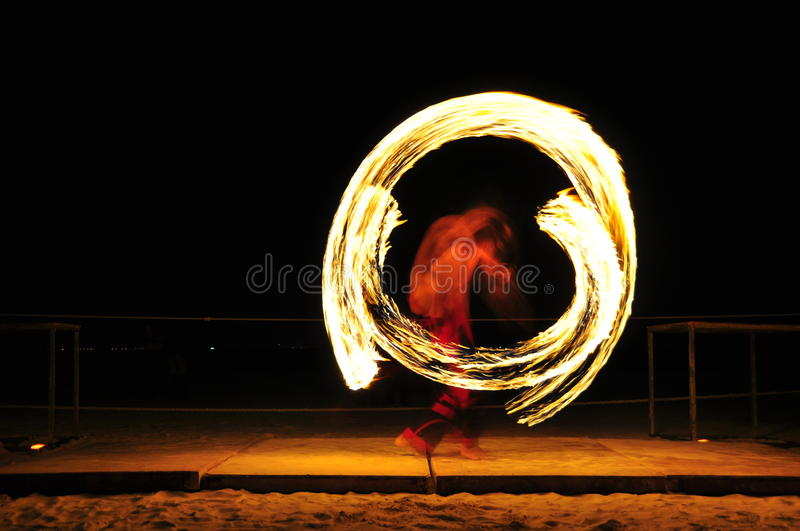 Download Fire Show stock image. Image of performer, burning, night - 16548445