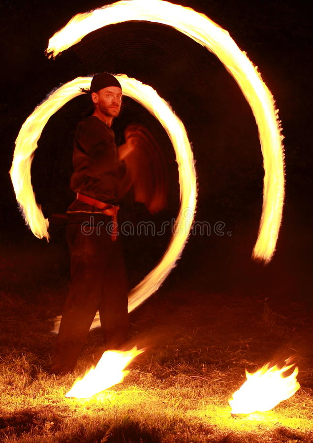 Download Fire Show Editorial Image - Image: 24745095