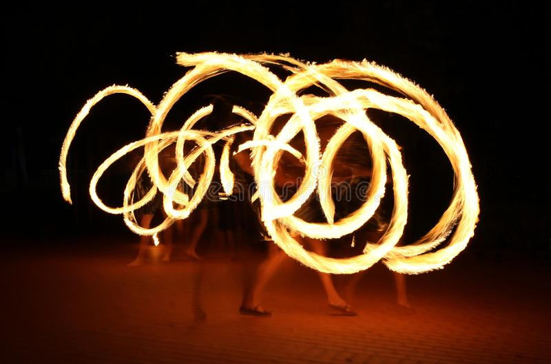 Download Fire show stock photo. Image of performance, light, dark - 27085648