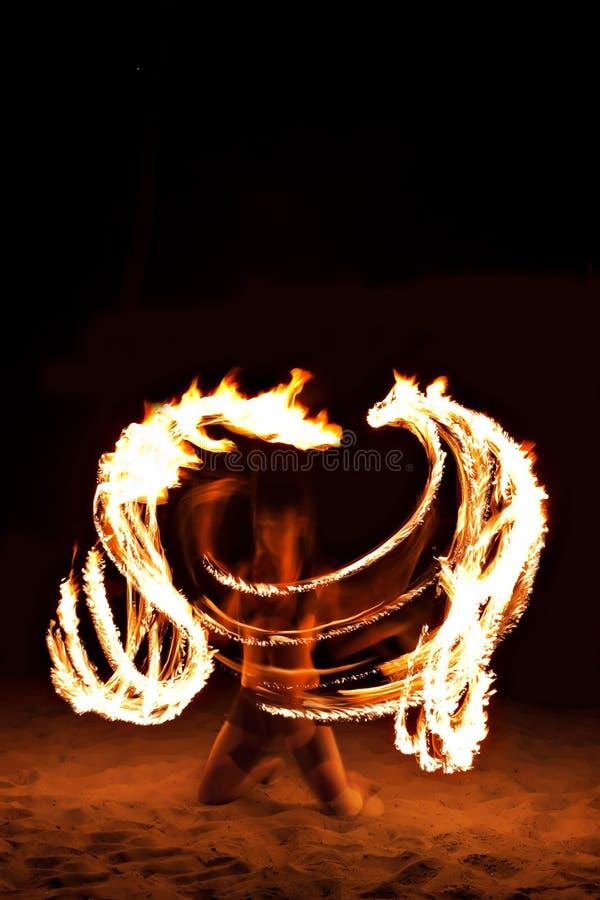 Download Fire show stock image. Image of bizarre, dancer, light - 29117881
