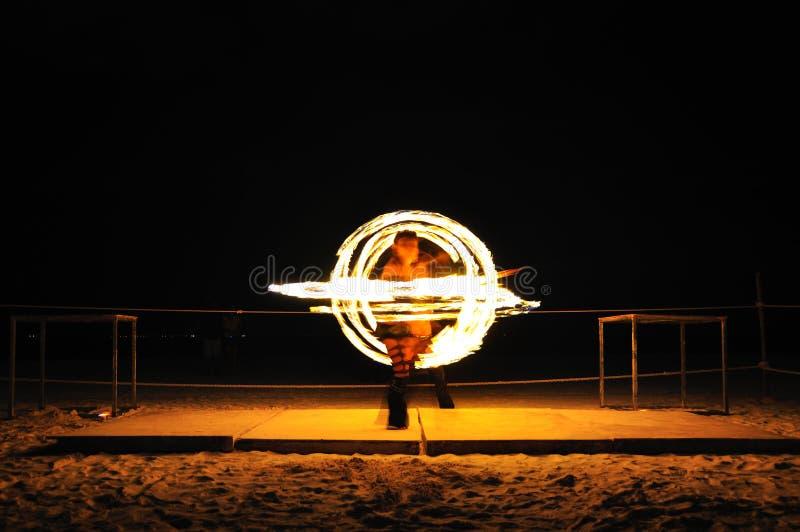 Fire Show, Mexico Stock Photo