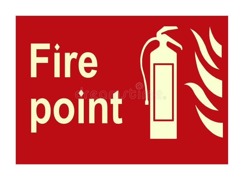 Fire sign stock photos