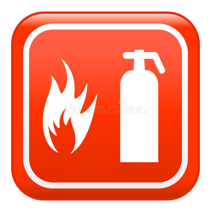 Fire sign , vector stock illustration