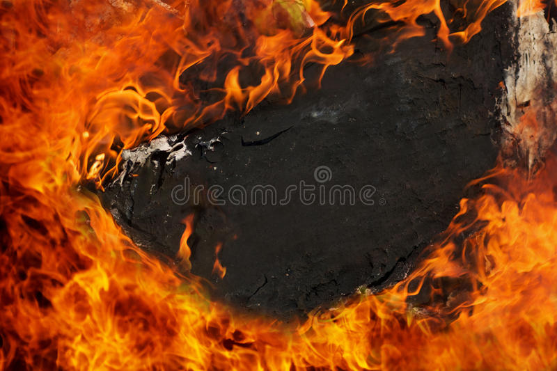 Fire sign royalty free stock photography