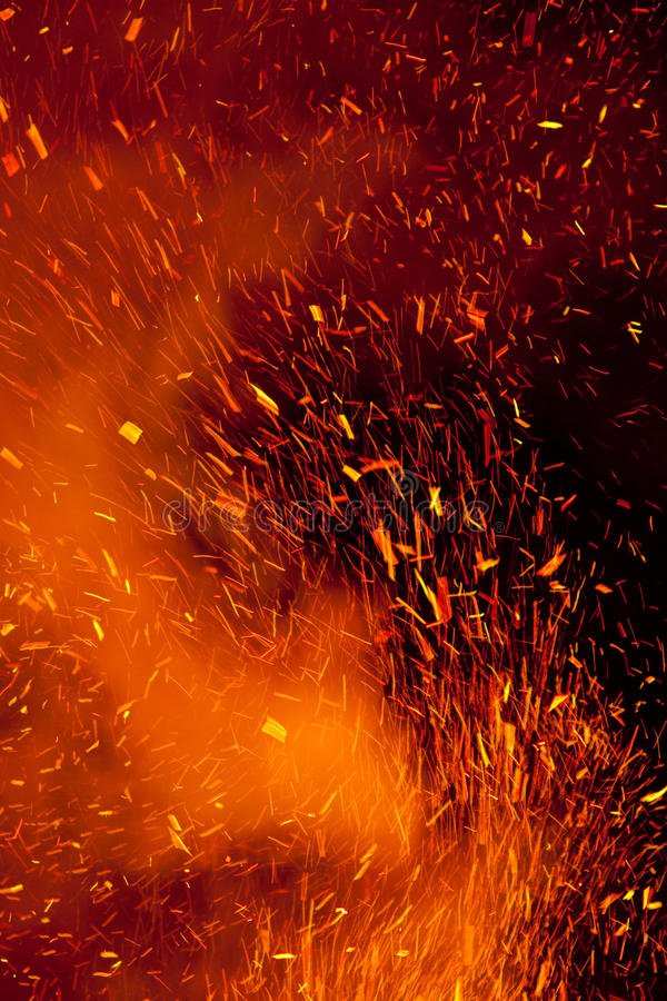 Download Fire Sparks stock image. Image of bright, fire, background - 13483107
