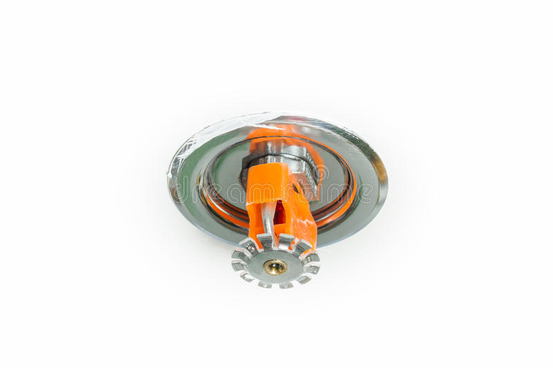 Fire sprinkler stock photography
