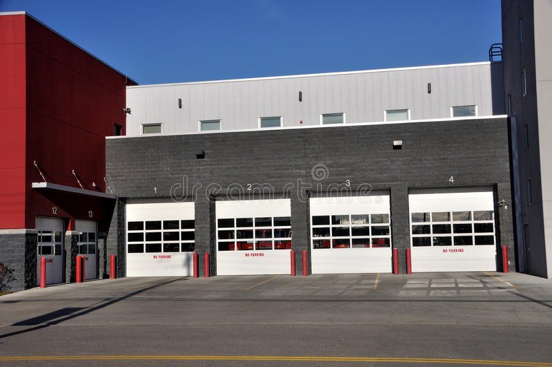 Download Fire Station stock photo. Image of sunny, rescue, firehouse - 15804556
