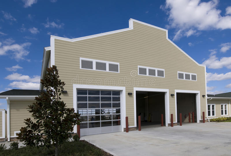 Fire Station in Florida stock image