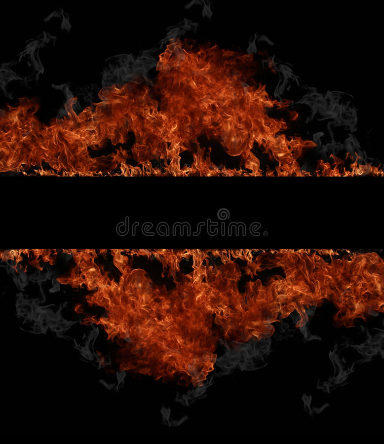 Fire stripe royalty free stock images