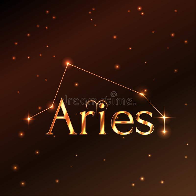 Fire Symbol Of Aries Zodiac Sign Horoscope Vector Art And