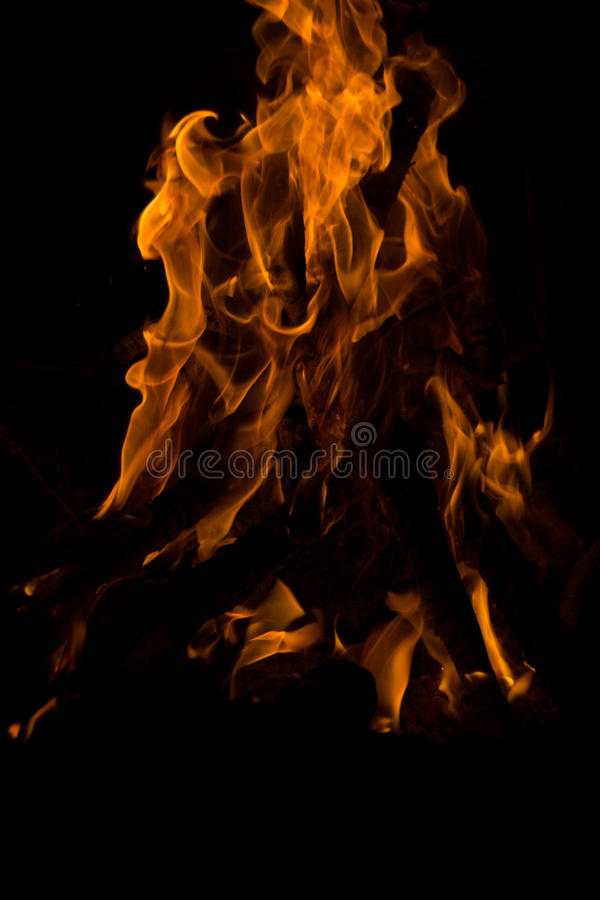 Fire. stock image