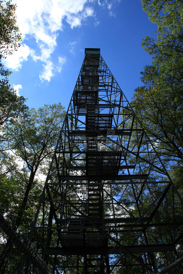 Fire Tower within Itasca State Park royalty free stock photos