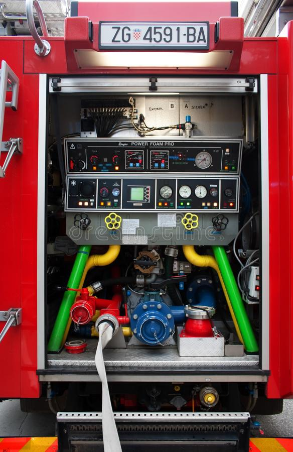 Download Fire truck editorial photography. Image of equipment - 16303212