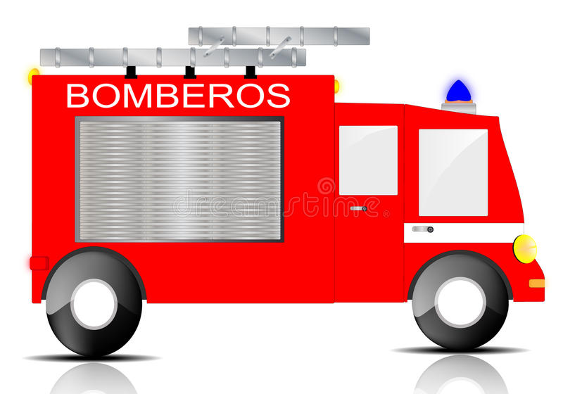 Download Fire Truck stock vector. Image of fire, brigade, illustration - 22133586