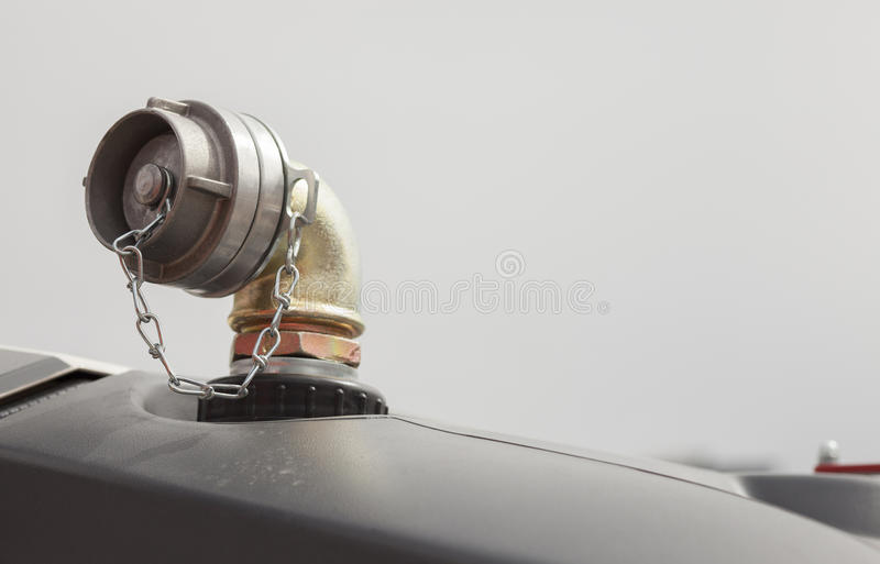 Fire Truck Hydrant-hose Connector Stock Image - Image of connector ...
