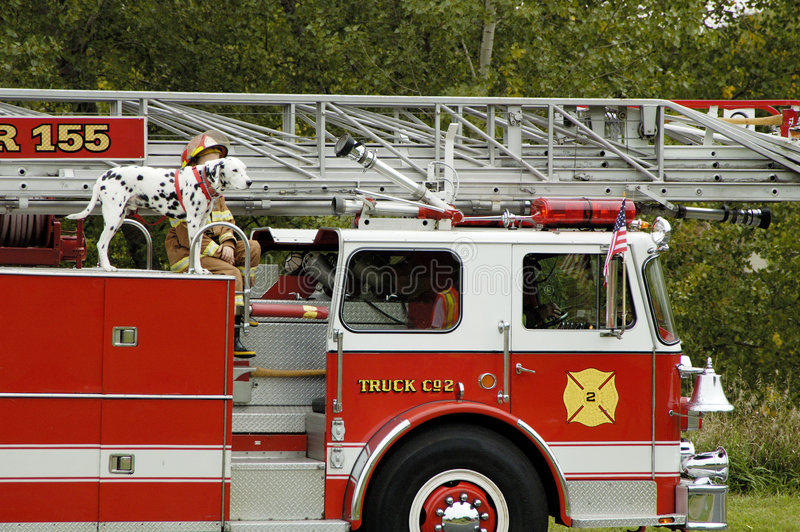 Download Fire Truck Parade 2 stock photo. Image of outriggers, ladder - 1234230