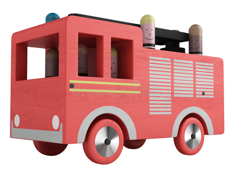 Fire Truck Toy Stock Photography