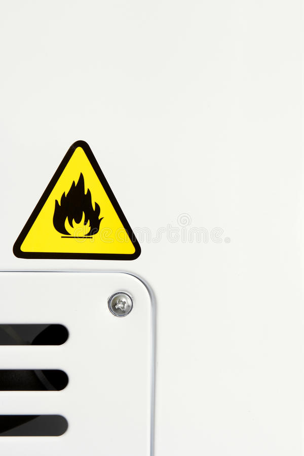 Fire Warning Stock Photos