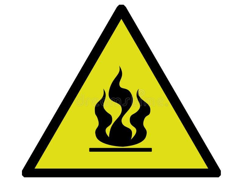 Download Fire warning stock illustration. Illustration of dangerous - 511825
