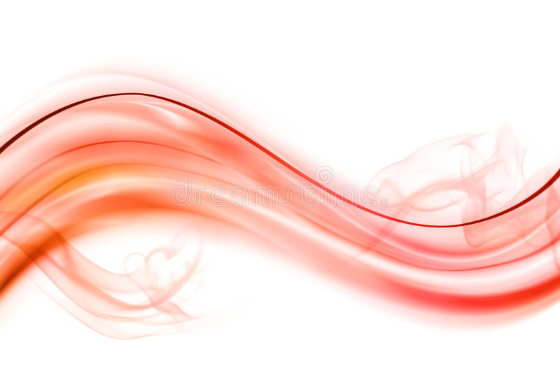 Fire Wave Background Royalty Free Stock Image