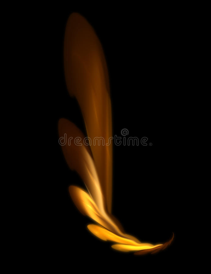 Download Fire wing stock illustration. Illustration of artistic - 13960845