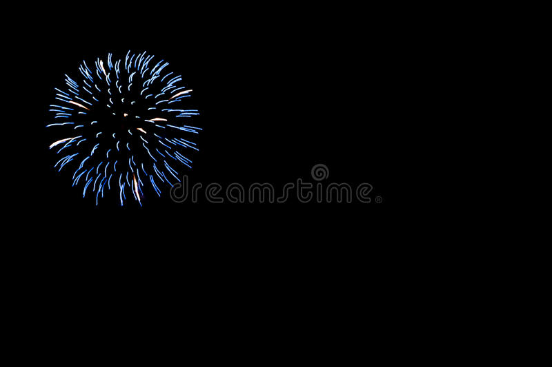 Fire Works stock image