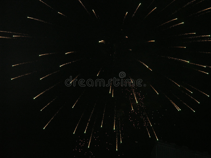 Fire Works 2 stock photography