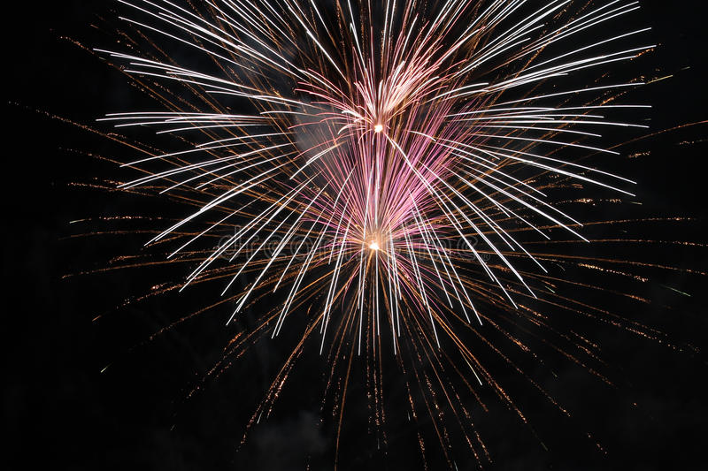 Download Fire Works stock photo. Image of structure, occasion - 25803832