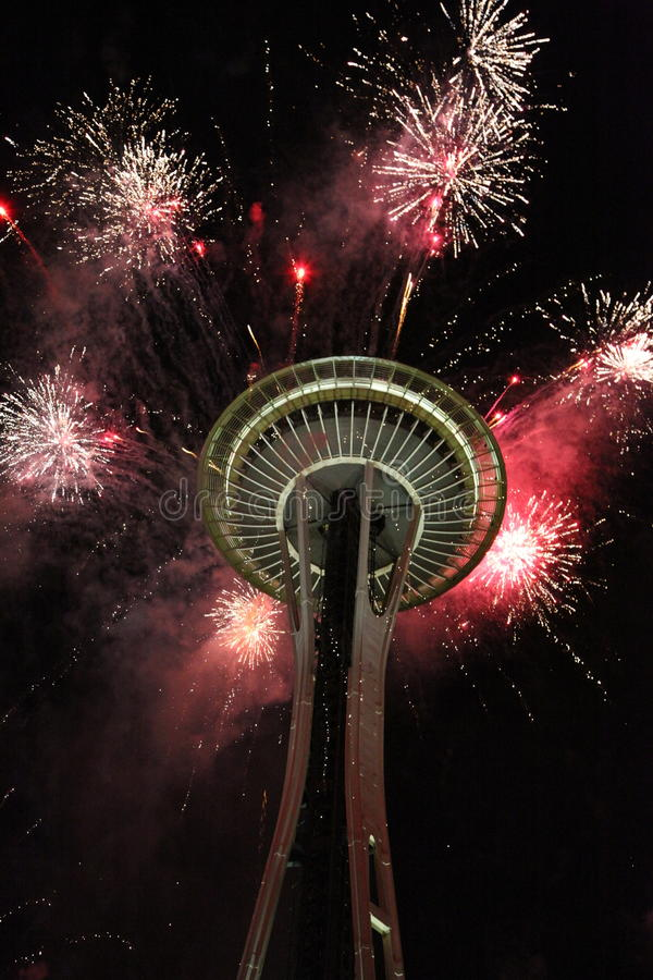Fire works stock photos