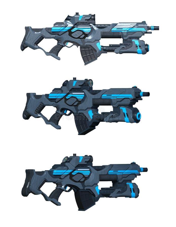 firearms illustration de vecteur